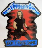 Metallica - 'Don't Tread on Me' Large Sticker